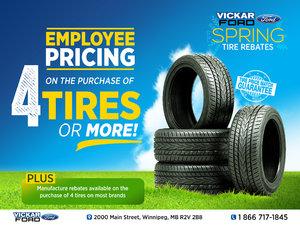 Vickar Ford Spring Tire Promo