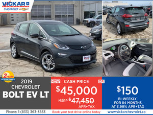 2019 CHEVY BOLT EV # KC8677