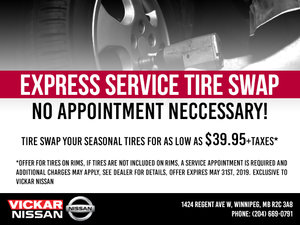 Express Service Tire Swap