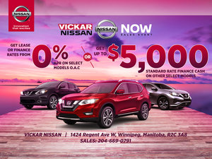 Nissan Now Sales Event!