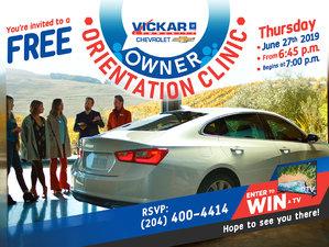 Vickar Community Chevrolet Car Care Clinic