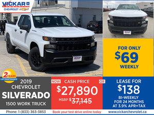 2019 Chevrolet Silverado 1500 STOCK# KT6833