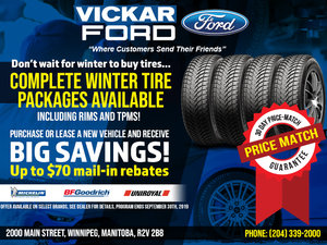 Vickar Ford  Winter Tire Special