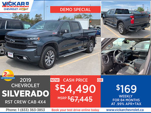 2019 Chevrolet Silverado 1500 RST Stock# KT9402