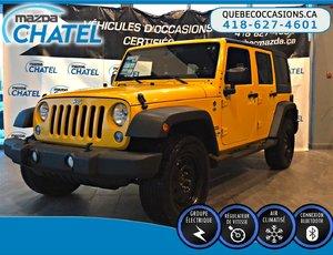 Jeep Wrangler Unlimited SPORT - 4X4 - MANUEL 2015