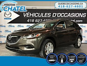 Mazda CX-9 GS-L AWD - CUIR - TOIT OUVRANT - SIEGES CHAUFFANTS 2015