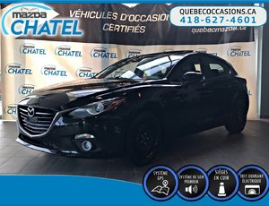 Mazda Mazda3 Sport GT - MANUELLE - CUIR - TOIT OUVRANT 2015