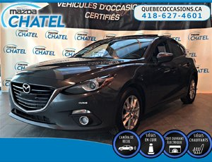 Mazda Mazda3 Sport GT - CUIR - TOIT OUVRANT - SIEGES CHAUFFANTS 2015