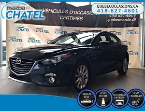 Mazda Mazda3 GT - CUIR - TOIT OUVRANT - BOSE 2015