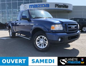 Ford Ranger 4WD super cab Sport 4WD AUTO AIR MAGS COUVRE-CAISSE HITCH 2011