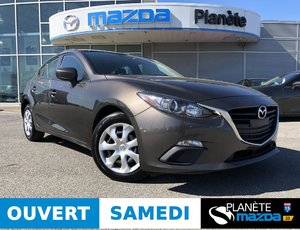 Mazda 3 Sport GX AUTO AIR CRUISE BLUETOOTH 2015