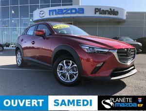 Mazda CX-3 AWD GS GS TOIT CRUISE ADAPTATIF MAGS APPLE CARPLAY 2019