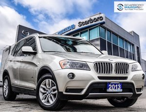 2013 BMW X3 XD28i PANROOF NAV WINTER TIRES