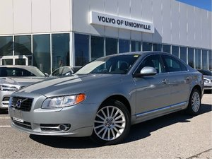 2012 Volvo S80 3.2 FWD A SUNROOF, HEATED SEATS FRONT & REAR