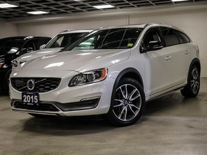 2015 Volvo V60 Cross Country T5 AWD Platinum