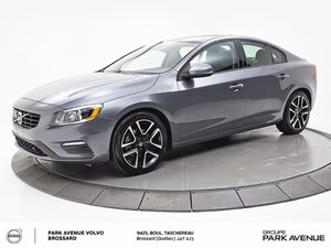 Volvo S60 T6 | 0.9% DISPONIBLE | TECH+CLIMATE+CONVENIENCE 2018