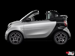 smart fortwo cabriolet - électrique  2018