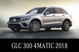Solde de démos GLC 300 2018 : Location à 468$/mois 3850$ comptant