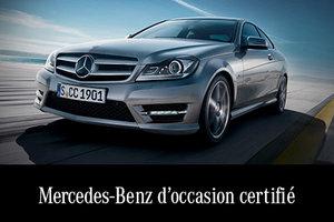 Mercedes-Benz d'occasion certifié