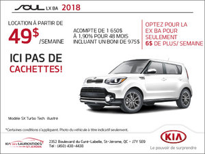 Procurez-vous la Kia Soul 2018