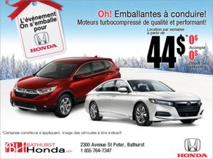 L'événement mensuel chez Honda!
