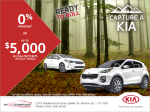 Capture a Kia event