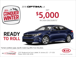 Get the 2018 Kia Optima!