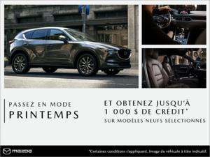 Passez en mode printemps chez Prestige Mazda à Shawinigan