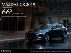 Procurez-vous la Mazda3 2019! chez Prestige Mazda à Shawinigan