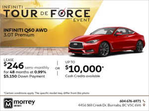2018 Q60 AWD 3.0T Premium