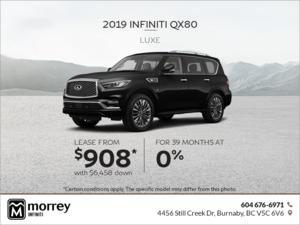 2019 QX80 Luxe