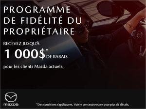 Programme de fidélité du propriétaire chez Prestige Mazda à Shawinigan
