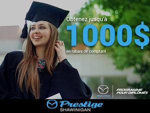 Programme diplômés chez Prestige Mazda à Shawinigan