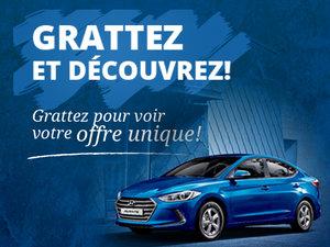 Offre unique à Groupe Vincent chez Hyundai Trois-Rivières à Trois-Rivières