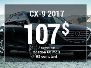 Un Mazda CX-9 2017 à partir de 107$ par semaine chez Prestige Mazda à Shawinigan