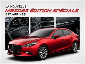 La Mazda3 ÉDITION SPÉCIALE est arrivée! chez Prestige Mazda à Shawinigan