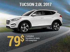 Offrez vous le nouveau Hyundai Tucson 2017 pour 79$/sem. chez Groupe Vincent à Shawinigan et Trois-Rivières