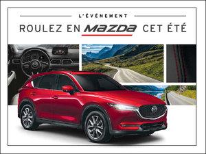 Roulez en Mazda cet été! chez Groupe Vincent à Shawinigan et Trois-Rivières