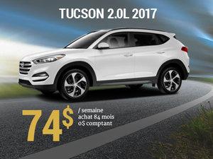 Offrez vous le Hyundai Tucson 2017 pour 74$/sem. chez Groupe Vincent à Shawinigan et Trois-Rivières