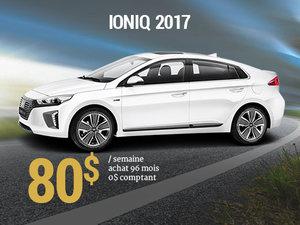 Roulez pour la planète avec le Hyundai IONIQ 2017 pour 80$/sem. chez Hyundai Trois-Rivières à Trois-Rivières