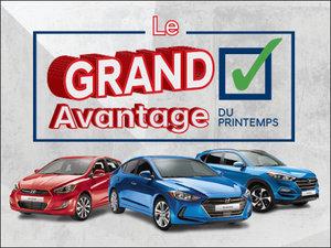 Rien à payer pour 90 jours + 4 pneus d'hiver GRATUITS! chez Hyundai Trois-Rivières à Trois-Rivières