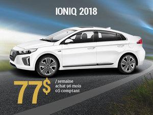 Roulez pour la planète avec le Hyundai IONIQ 2018 pour 77$/sem. chez Hyundai Trois-Rivières à Trois-Rivières
