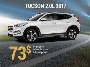 Offrez vous le Hyundai Tucson 2017 pour 73$/sem. chez Hyundai Trois-Rivières à Trois-Rivières