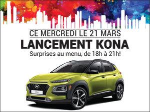 Lancement du nouveau KONA chez Hyundai Trois-Rivières à Trois-Rivières