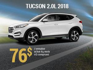 Offrez vous le Hyundai Tucson 2018 pour 76$/sem. chez Hyundai Trois-Rivières à Trois-Rivières