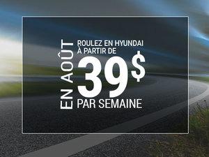 Roulez en Hyundai à partir de 39$ par semaine chez Hyundai Shawinigan à Shawinigan