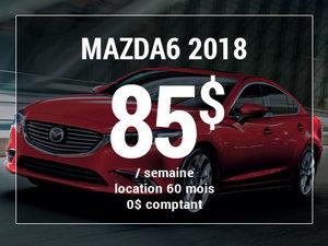 Roulez en Mazda6 GS 2018 à partir de 85$ / semaine chez Prestige Mazda à Shawinigan
