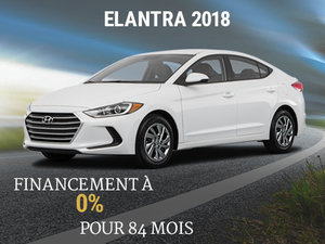 Roulez en Hyundai Elantra GL 2018 pour 84 mois chez Hyundai Shawinigan à Shawinigan