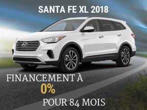 Achetez un Hyundai Santa Fe XL 2018 à 0% d'intérêt. chez Hyundai Shawinigan à Shawinigan