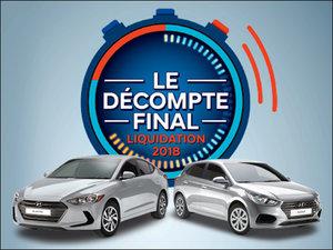 Financement 0% pour 84 mois + 4 pneus d'hiver SANS FRAIS! chez Hyundai Shawinigan à Shawinigan